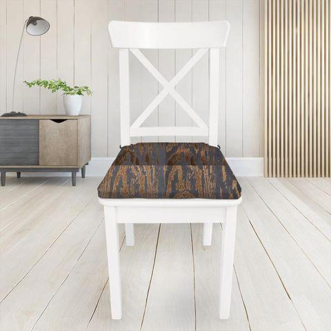 Marva Copper Seat Pad Cover