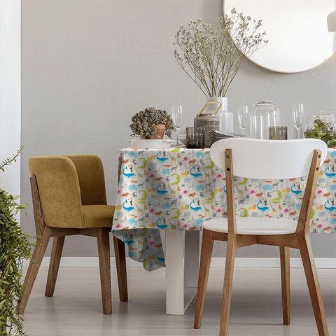 Animal Magic Tutti Frutti / Chalk Tablecloth
