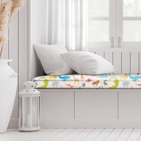 Animal Magic Tutti Frutti / Chalk Box Cushion