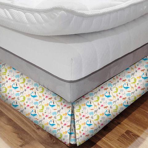 Animal Magic Tutti Frutti / Chalk Bed Base Valance