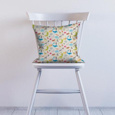 Animal Magic Tutti Frutti / Chalk Cushion