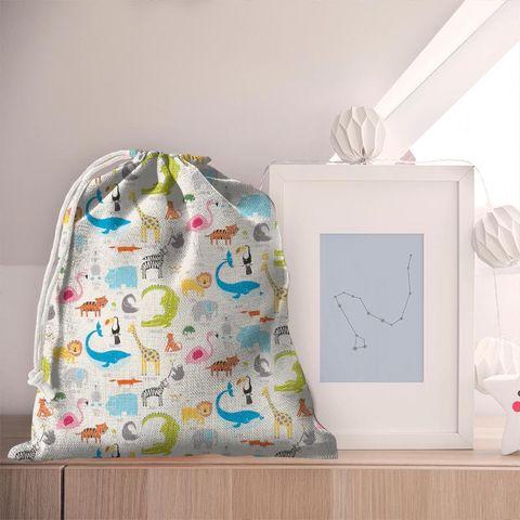 Animal Magic Tutti Frutti / Chalk Pyjama Bag