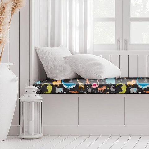 Animal Magic Tutti Frutti / Blackboard Box Cushion