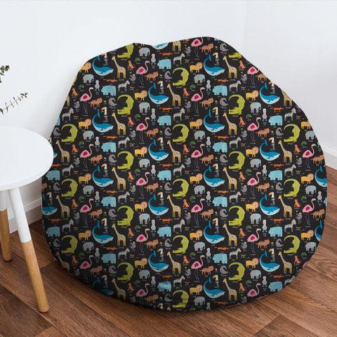 Animal Magic Tutti Frutti / Blackboard Bean Bag