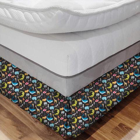 Animal Magic Tutti Frutti / Blackboard Bed Base Valance