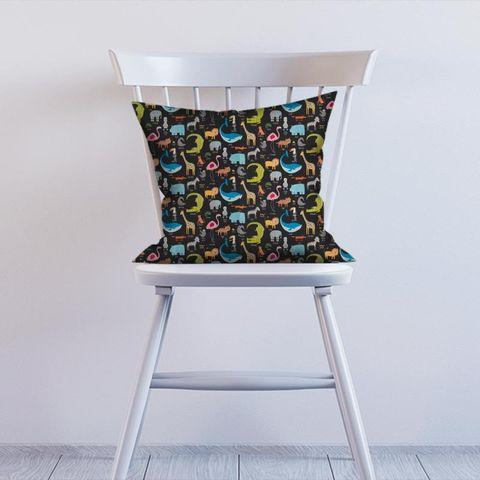 Animal Magic Tutti Frutti / Blackboard Cushion