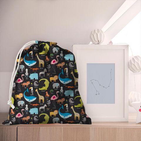 Animal Magic Tutti Frutti / Blackboard Pyjama Bag