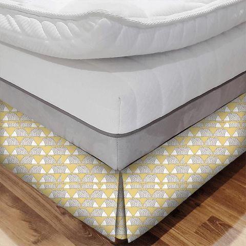 Spike Honey Bed Base Valance