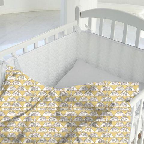 Spike Honey Cot Duvet Cover
