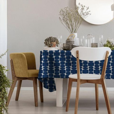 Lohko Indigo / Jasmine Tablecloth