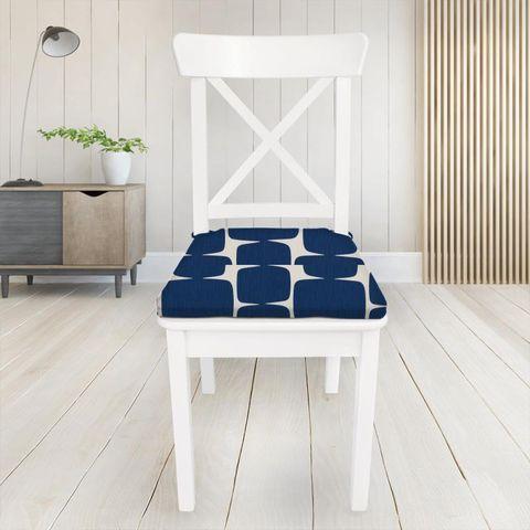 Lohko Indigo / Jasmine Seat Pad Cover