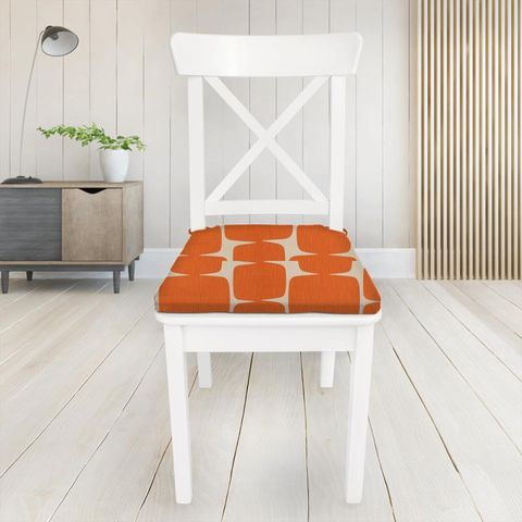 Lohko Paprika / Pebble Seat Pad Cover