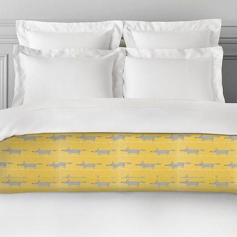 Mr Fox Sunflower Gull And Chalk Bed Runner