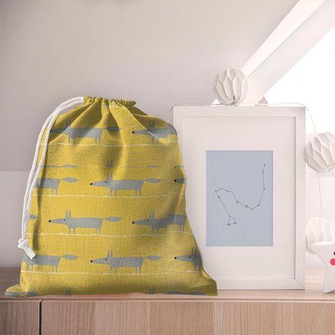 Mr Fox Sunflower Gull And Chalk Pyjama Bag