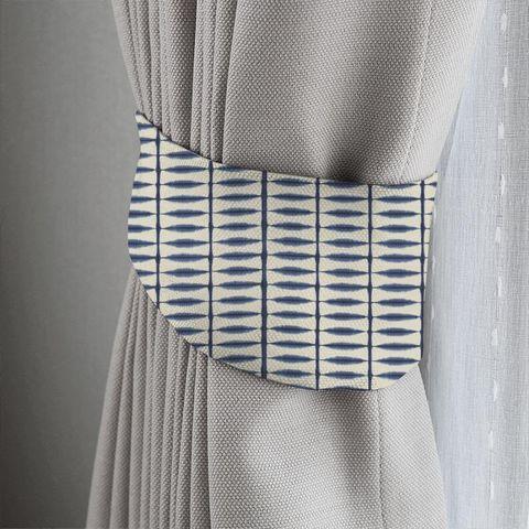 Shibori Indigo / Linen Tieback