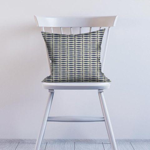Shibori Indigo / Linen Cushion