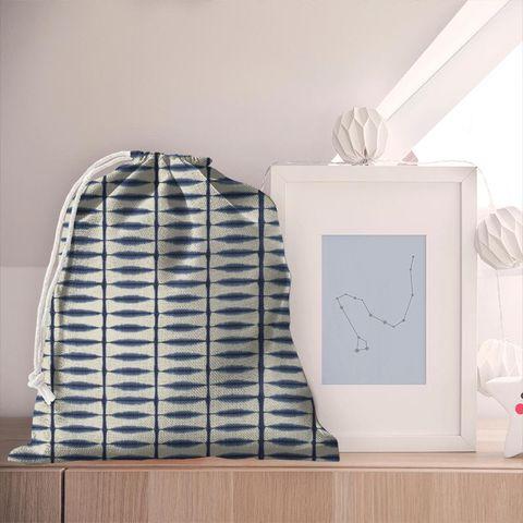 Shibori Indigo / Linen Pyjama Bag