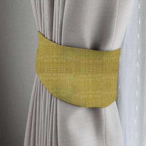 Scribble Olive Tieback