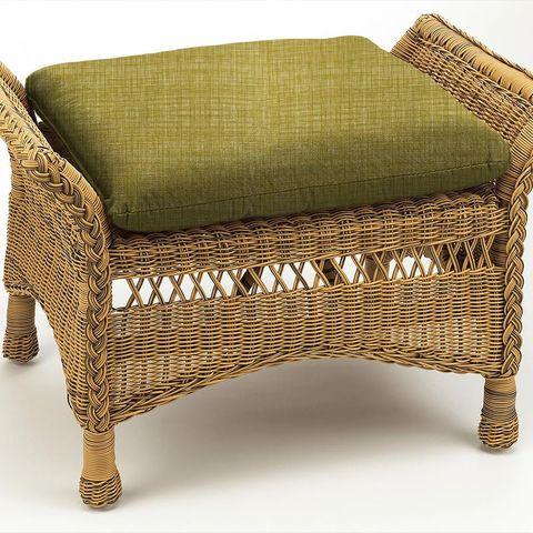 Scribble Olive Box Cushion