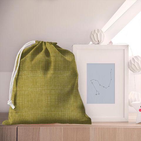 Scribble Olive Pyjama Bag
