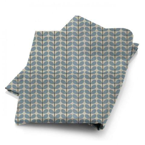 Two Colour Stem Powder Blue Fabric