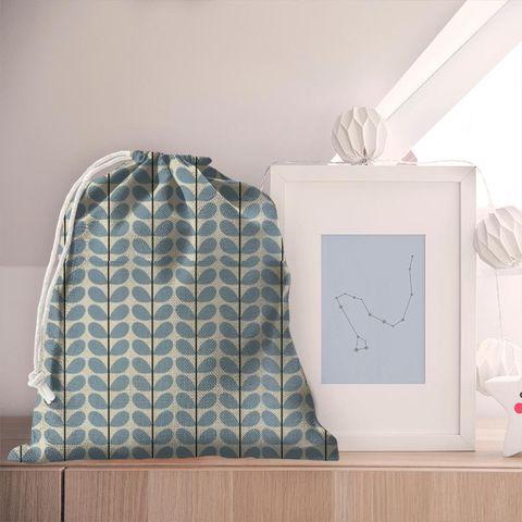 Two Colour Stem Powder Blue Pyjama Bag