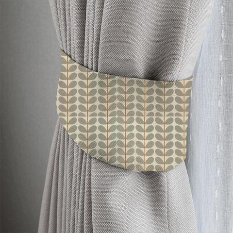Two Colour Stem Warm Grey Tieback