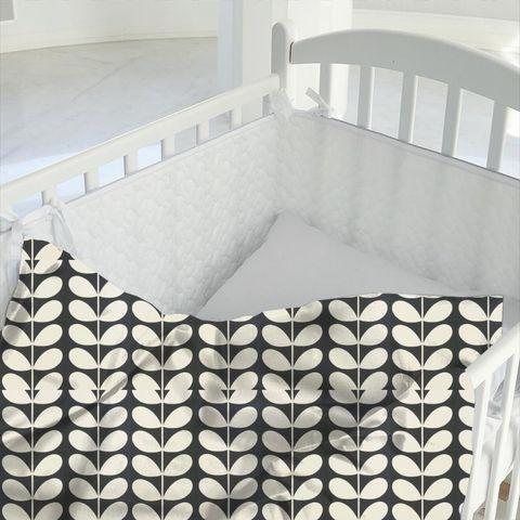 Giant Stem Cool Grey Cot Duvet Cover