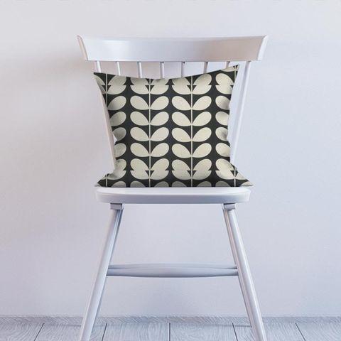 Giant Stem Cool Grey Cushion