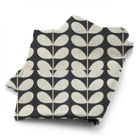 Giant Stem Cool Grey Fabric