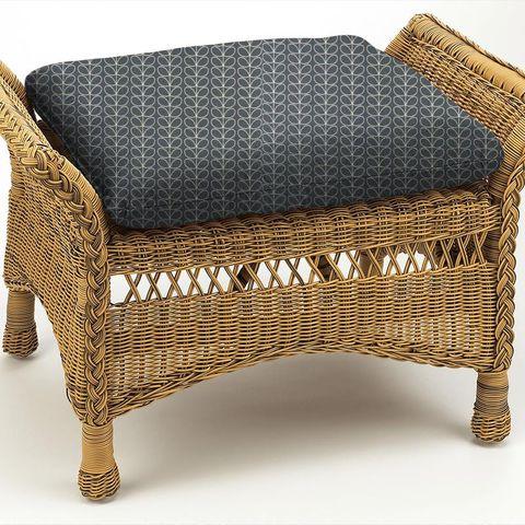 Linear Stem Cool Grey Box Cushion