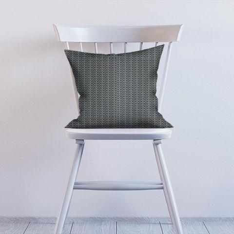 Linear Stem Cool Grey Cushion