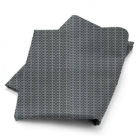 Linear Stem Cool Grey Fabric