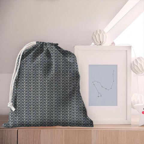 Linear Stem Cool Grey Pyjama Bag