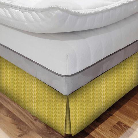 Linear Stem Dandelion Bed Base Valance