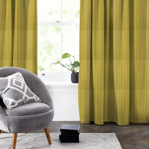 Linear Stem Dandelion Made To Measure Curtain