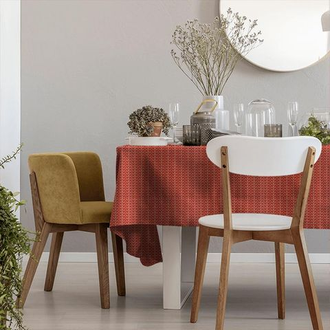 Linear Stem Tomato Tablecloth