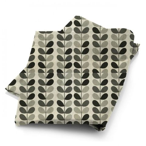 Multi Stem Warm Grey Fabric