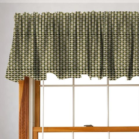 Oval Flower Seagrass Valance