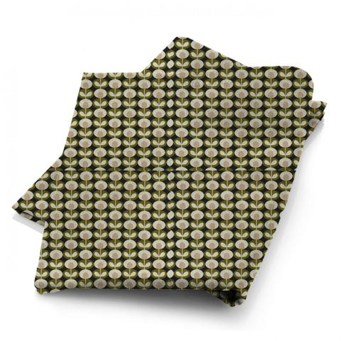 Oval Flower Seagrass Fabric