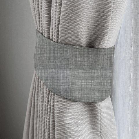 Scribble Cool Grey Tieback