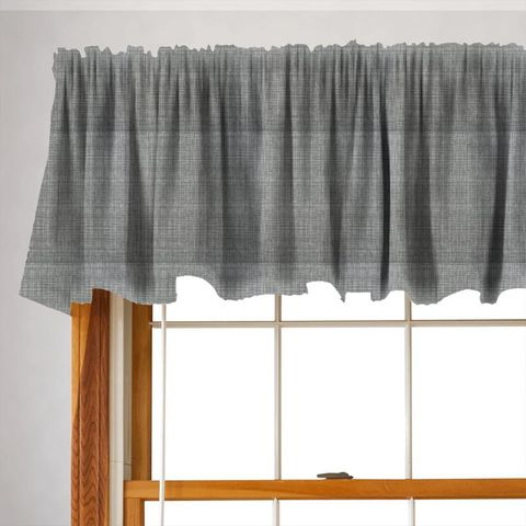Scribble Cool Grey Valance