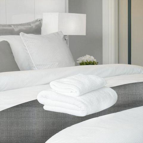 Scribble Cool Grey Bed Runner