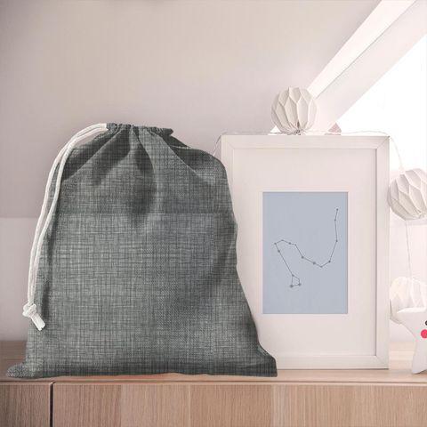 Scribble Cool Grey Pyjama Bag