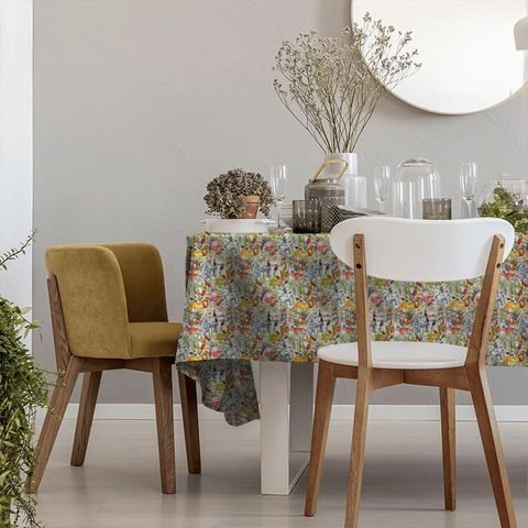 King Of The Jungle Waterfall Tablecloth