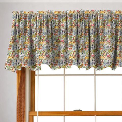 King Of The Jungle Waterfall Valance