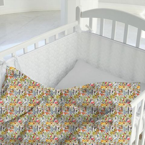 King Of The Jungle Waterfall Cot Duvet Cover