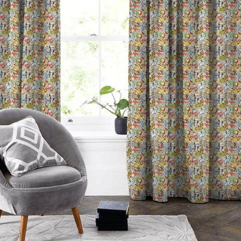 King Of The Jungle Waterfall Made To Measure Curtain