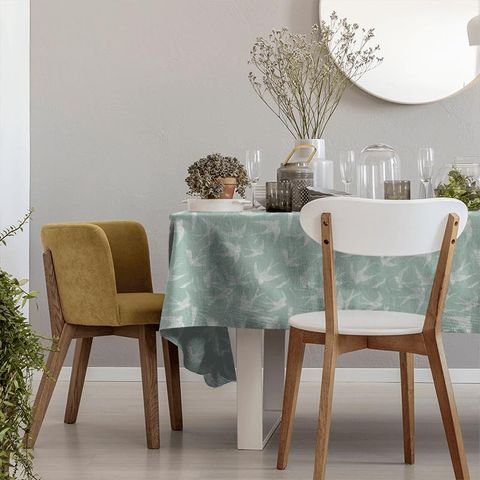 Fly Away Mineral Tablecloth