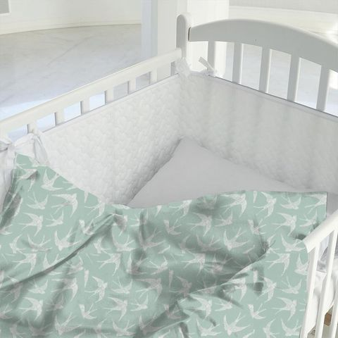 Fly Away Mineral Cot Duvet Cover